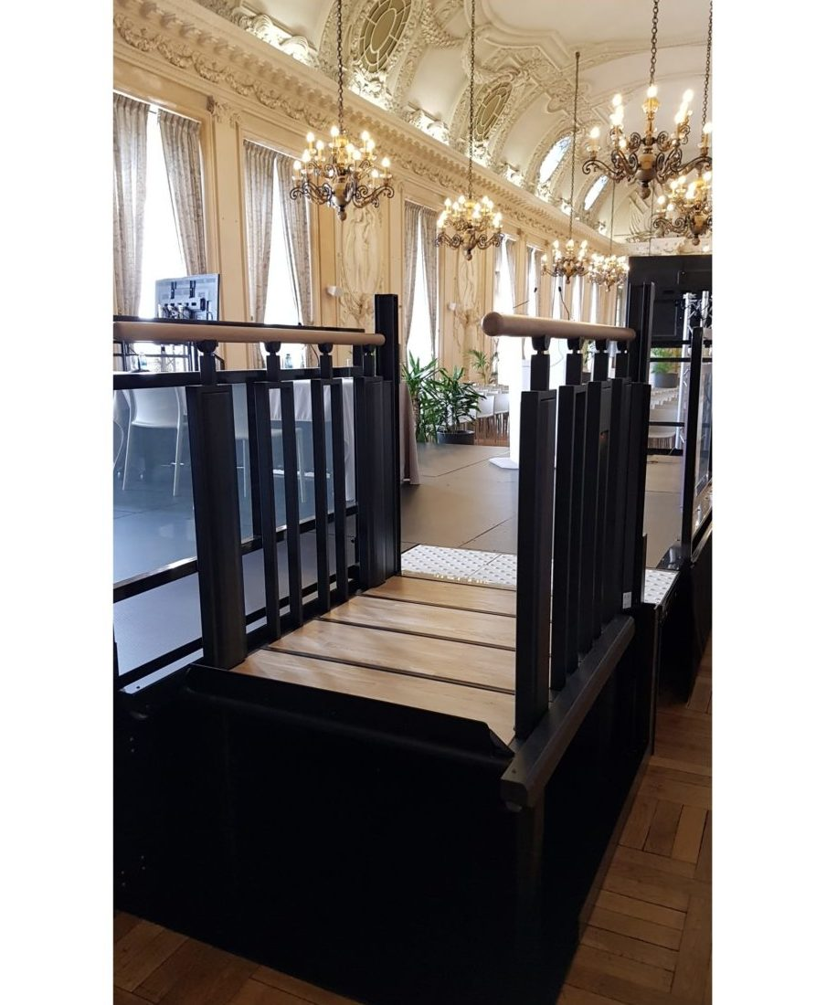 élévateur Flexstep - Hotel de ville de Reims