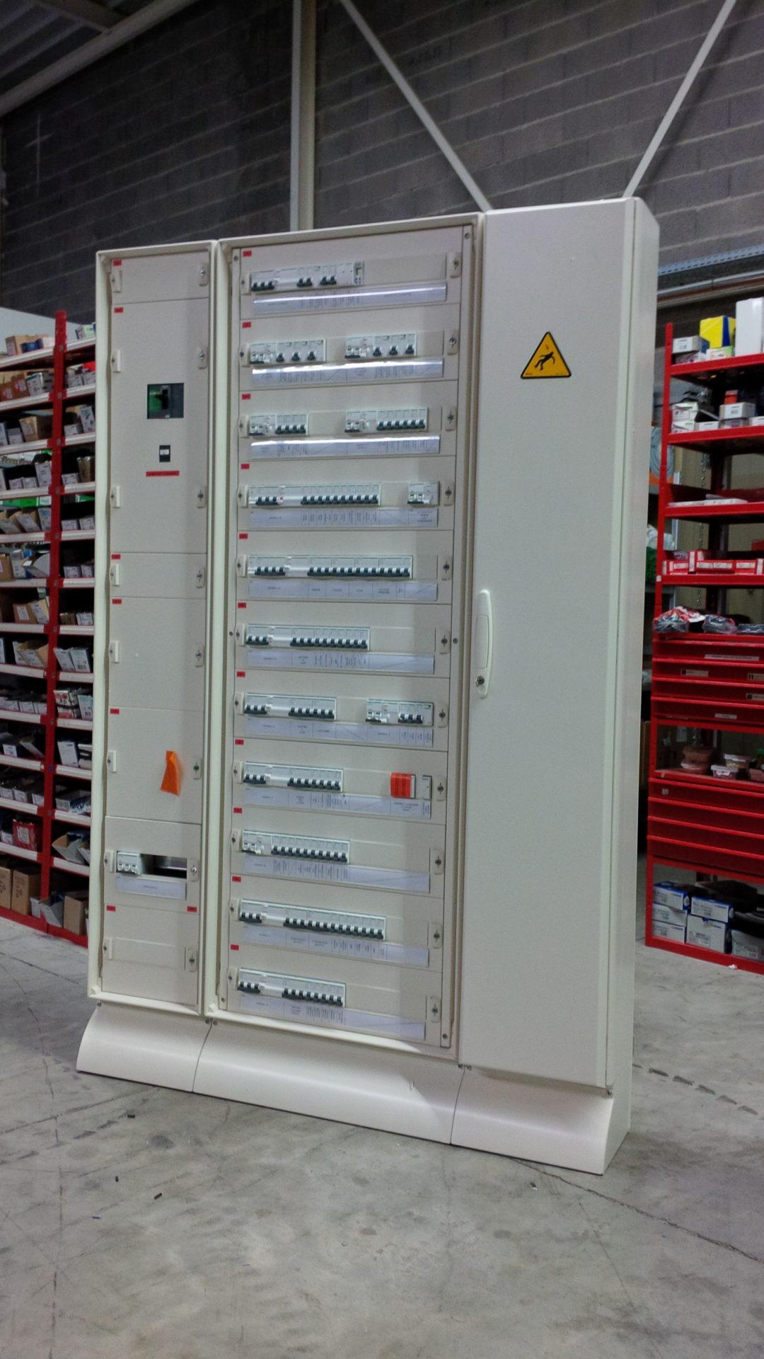 Cablage de nos armoires electriques